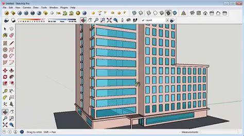Sketchup Building Design Tutorial