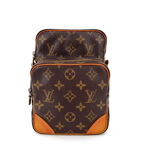 louis vuitton amazon toiletry dopp brown monogram canvas