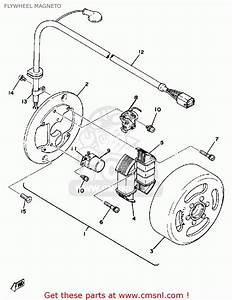 Yamaha Dt125e 1978 Flywheel Magneto