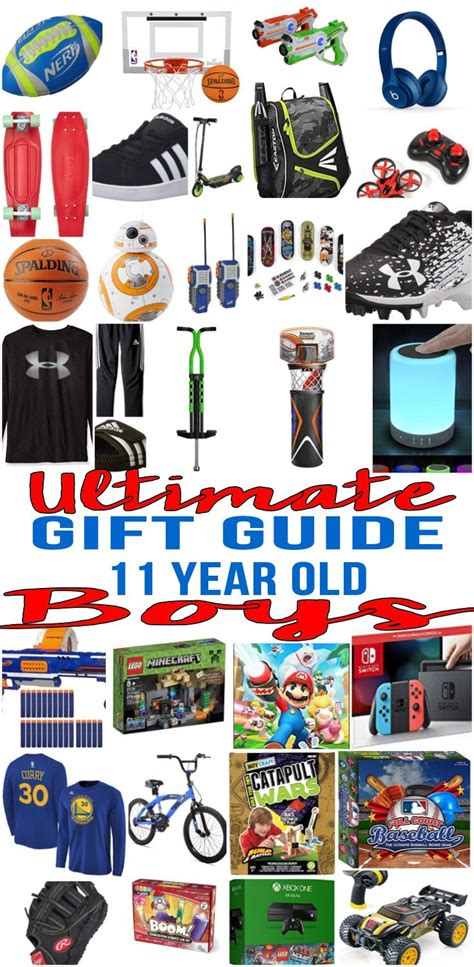 christmas gifts for 11 year ild boy best gifts for 11 year boys gift guides gifts for boys gifts
