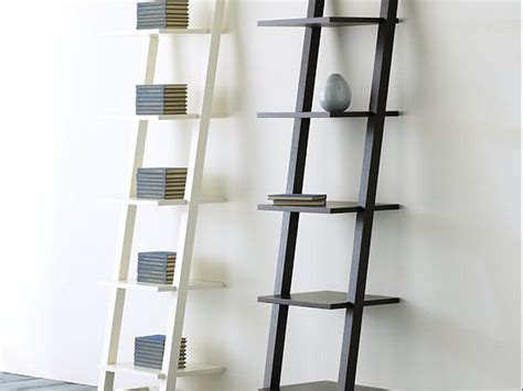 outstanding storage ideas   ladder shelving unit homesfeed