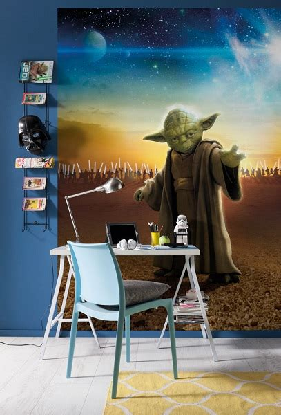 Star Wars Master Yoda Wall Mural