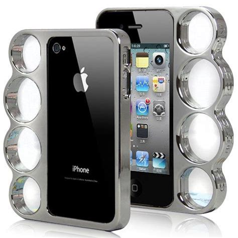 iphone shuts at 30 brass knuckle iphone brass knuckles and phone