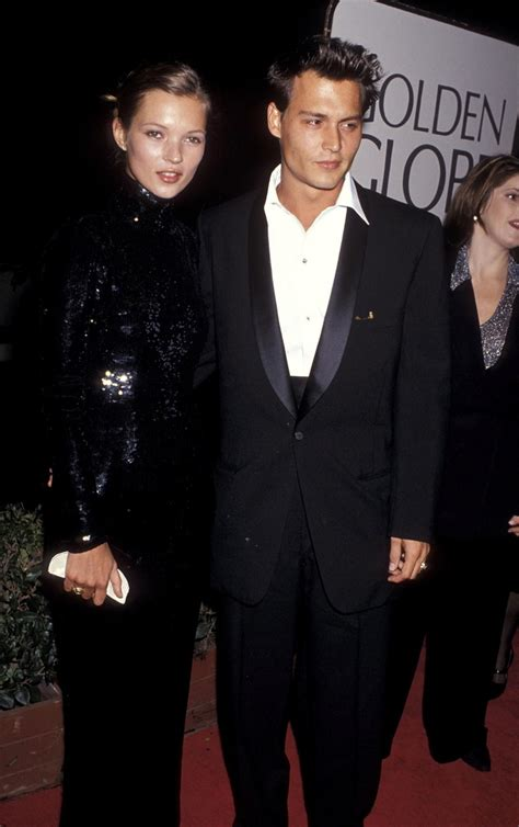 kate moss  actor johnny depp