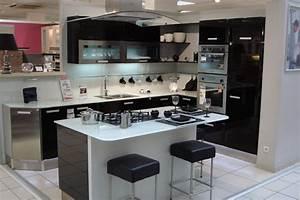 plan cuisine moderne avec ilot central cuisine idees With plan cuisine ilot central