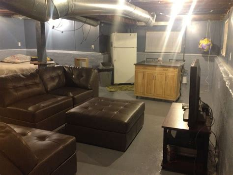 Ideas For Unfinished Basements by Unfinished Basement Home Basements