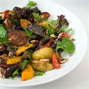 Fall Roasted Vegetables Salad