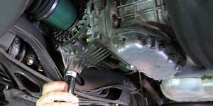 Remove The 21mm Front Differential Drain Plug  Note That Later Years Use A T