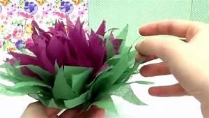 Servietten Blumen Falten : diy weihnachtsstern blume aus servietten falten tutorial blumen falten anleitung deutsch ~ Watch28wear.com Haus und Dekorationen