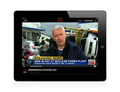 Watch Cnn 24/7 Live Streaming On Your Iphone And Ipad
