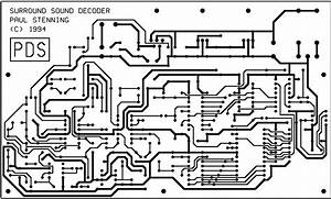 layout pcb surround decoder circuit diagram images With pcb circuit project