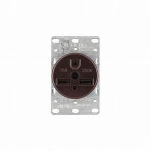 Eaton 30 Amp 250-volt 6-30r Power Receptacle-5700n