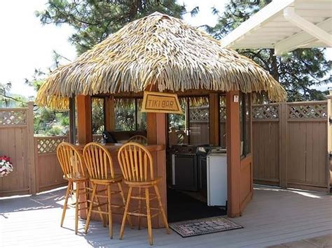Tiki Hut - swimming pool tiki hut outdoor kitchen room 5