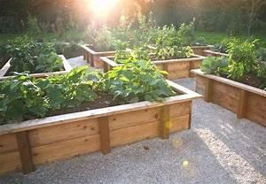Bac En Bois Pour Potager : des bac en bois pour le jardinage ~ Dailycaller-alerts.com Idées de Décoration