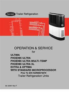 Carrier Ultima  Phoenix Ultra Xl  Extra  And Optima
