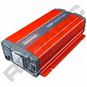 Redarc 1000w 12v Pure Sine Wave Inverter