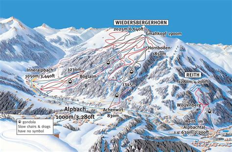 Alpbachtal Ski Resort Guide, Location Map & Alpbachtal ski ...