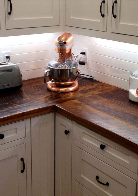 barn wood counter top diy wood countertops diy kitchen