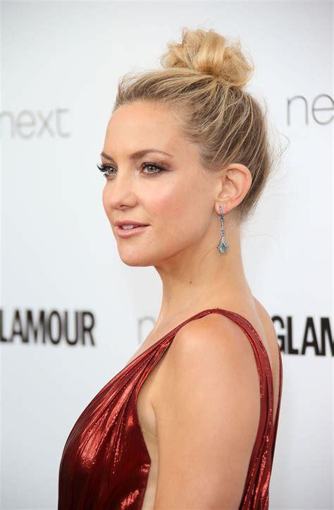 Celebrities Wear Messy Bun Hairstyles To The Glamour U K