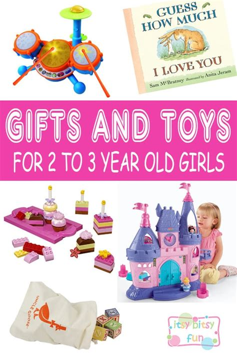 Best Gifts For 2 Year Old Girls In 2017  Itsy Bitsy Fun