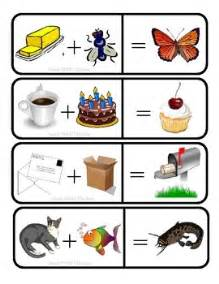 Vpk Printable Worksheets Compound Word Addition Compound Words Literacy Centers And Word Work Stations