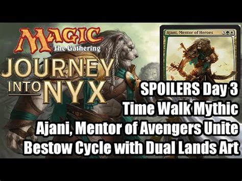 ajani mentor of heroes deck build journey into nyx speculation what will the new ajani card