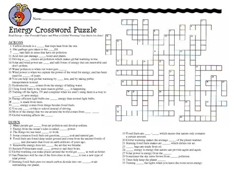 Science Puzzles For Middle School