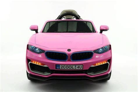 Top Rated Pink Bmw Ride On Car For Kids, 12v Kids Cars