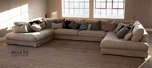 maison du monde canap cuir amazing canap duangle maison With showroom canape cuir ile de france