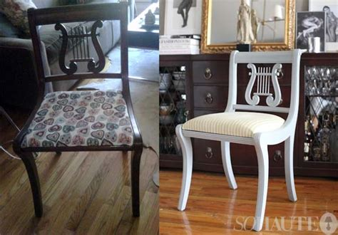 my craigslist dining chairs before after sohautestyle