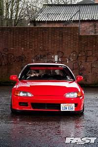Stanced Honda Civic Eg6