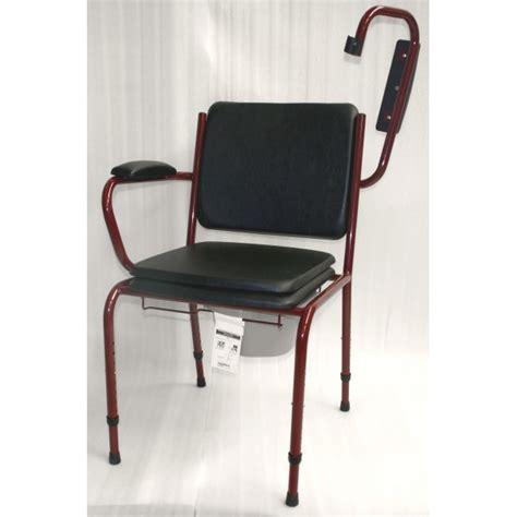 chaise avec accoudoir but chaise percée avec accoudoirs escamotables gr 15