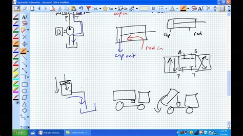 Basic Hydraulic Schematics Youtube