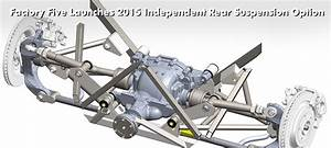 Factory Five Launches 2015 Independent Rear Suspension