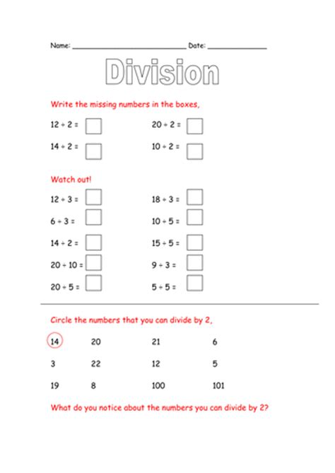 dividing by 5 worksheet by lynreb teaching resources tes