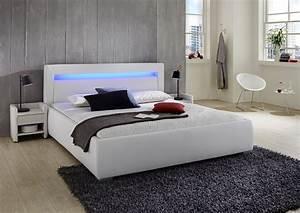 Bett Mit Led Beleuchtung 160x200 : sam polsterbett 140 cm wei lumina led g nstig ~ Whattoseeinmadrid.com Haus und Dekorationen