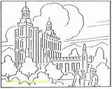Coloring Synagogue Lake Salt Temple Pages Getdrawings Getcolorings sketch template