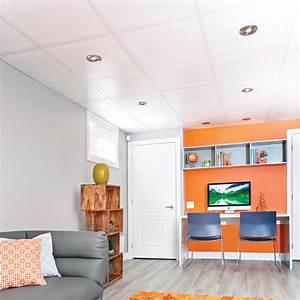 Comment Enduire Un Plafond : comment installer un plafond suspendu en tapes ~ Mglfilm.com Idées de Décoration
