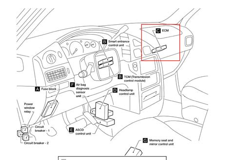 similiar 2005 nissan altima ecm diagram keywords 2005 infiniti g35 fuse box diagram 2005 engine image for user