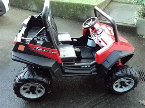 peg perego polaris rzr 900 ride on jeep saanich