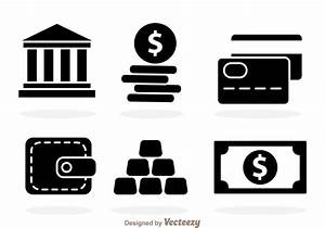 Black Bank icons - Download Free Vector Art, Stock ...