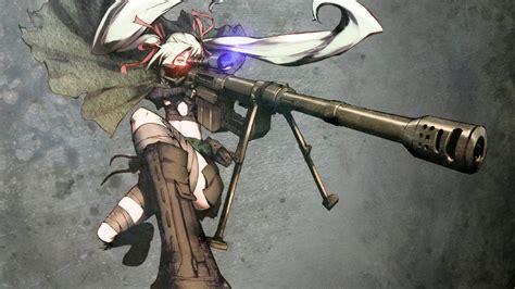 Anime Sniper Wallpaper - anime gunslinger sniper rifles 1123 wallpapers and