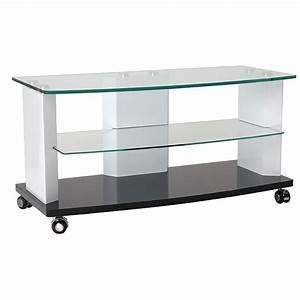 Meuble Tv Haut : meuble tv haut a roulettes ~ Teatrodelosmanantiales.com Idées de Décoration