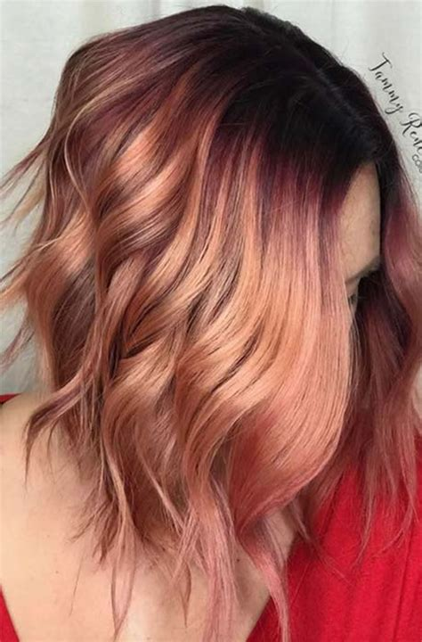 Colour Hairstyles by Balayage Hair Colours For Summer Hairstyles 2019 Hairstyles