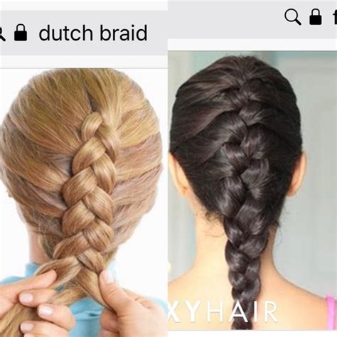 whats  difference  french braids  dutch