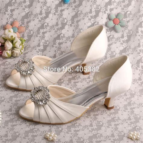 wedding shoes low heel wedopus drop shipping 2015 kitten heel low heel pumps 1126