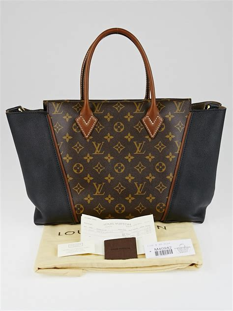 louis vuitton black monogram canvas  pm bag yoogis closet
