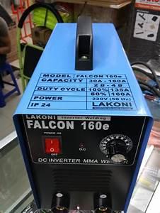 Jual Mesin Las Listrik Lakoni 160 A    Lakoni Falcon 160e