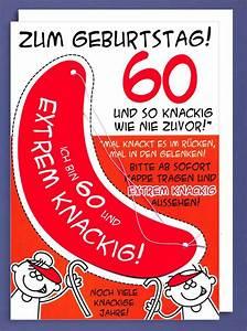 Geburtstagsbilder Zum 60 : riesen gru karte 60 geburtstag humor avanfriends xxl accessoires kappe und so knackig wie nie ~ Buech-reservation.com Haus und Dekorationen