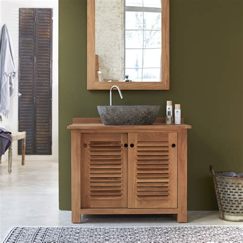 impressionnant meuble bois salle de bain pas cher et